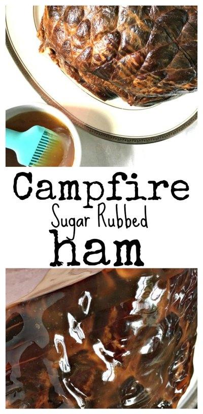 easy easter ham glaze campfire sugar rubbed