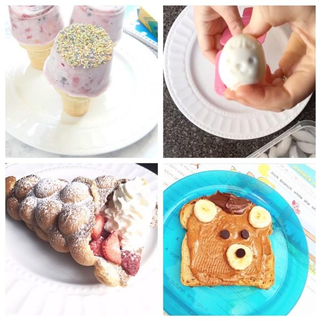 4 Fun Kids' Breakfast ideas on www.sugarbananas.com wjla good morning washington