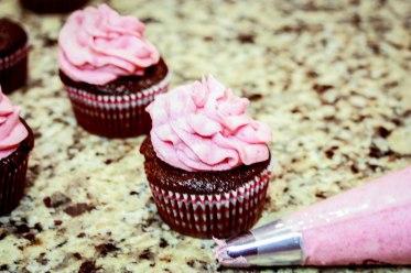 Chocolate Raspberry Cupcakes-2726