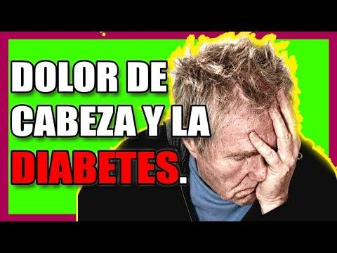 ¿Por qué LA DIABETES y el DOLOR DE CABEZA tienen relación?
