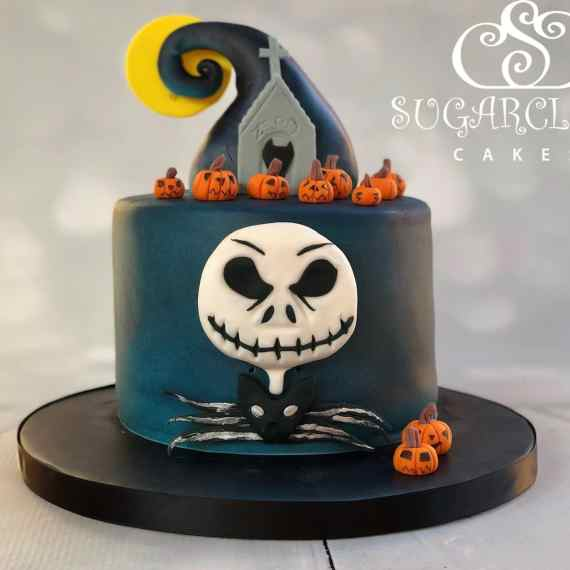 Nightmare before Christmas Cake- Crewe Hall
