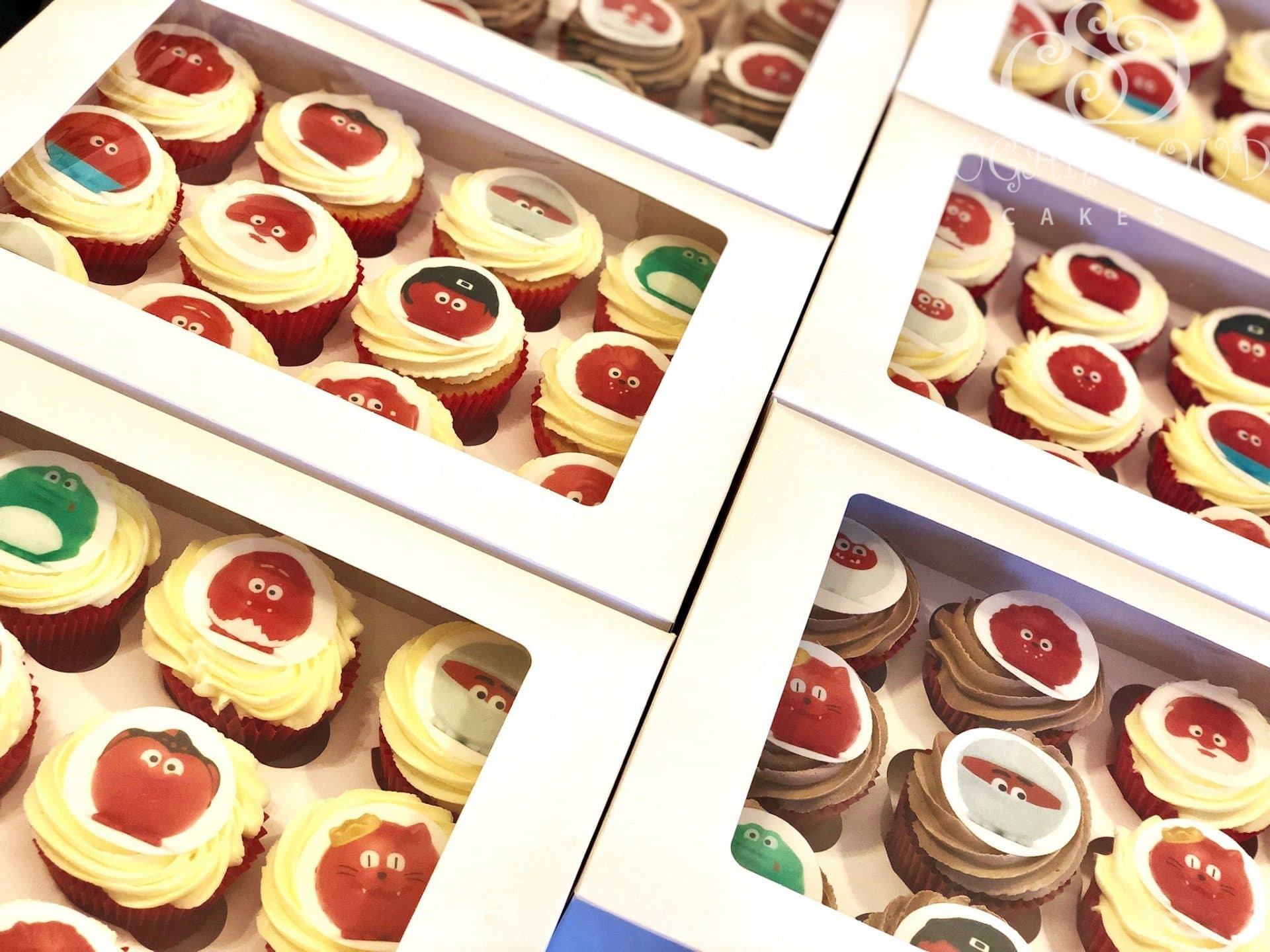 Red Nose Day Cupcakes 1