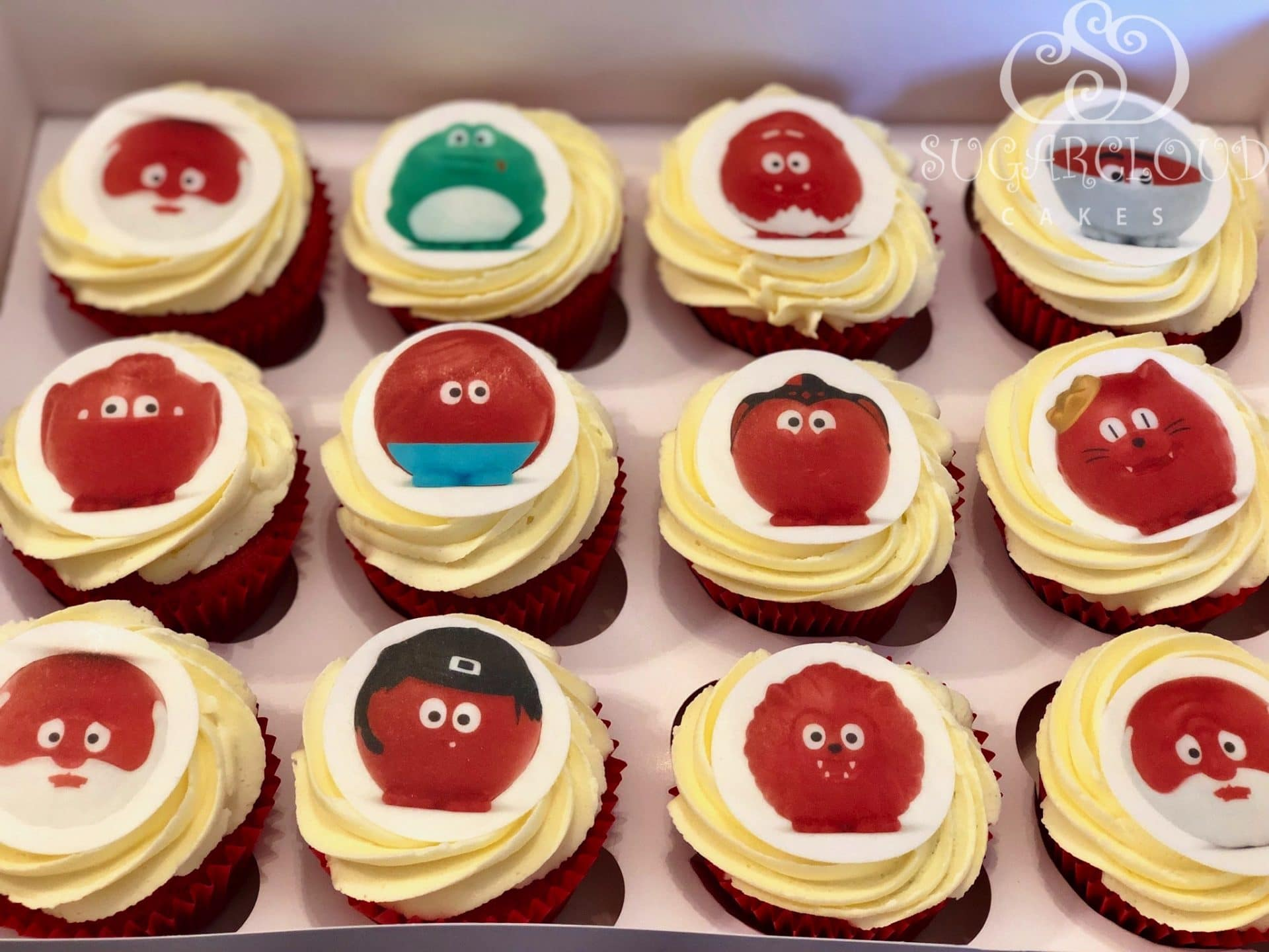 Red Nose Day Cupcakes 3