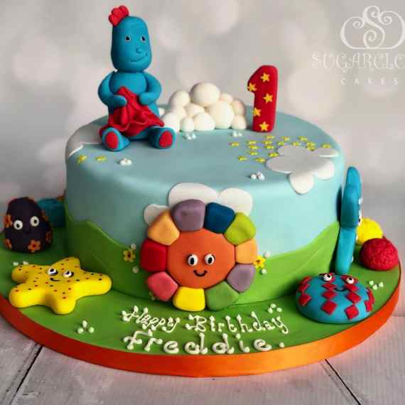 In the night garden inspired birthday cake