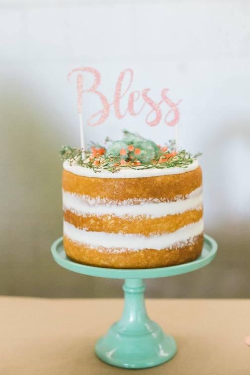 Naked Blessing cake
