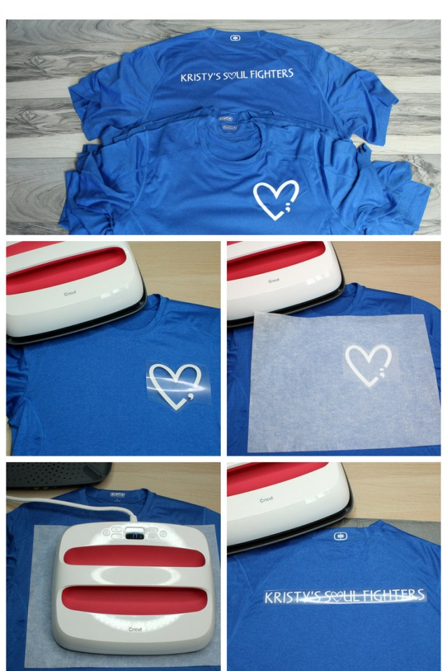 DIY Custom team shirts made with the Cricut EasyPress 2. Get the tutorial at sugarcoatedhousewife.com
