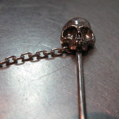 Skull Stickpin