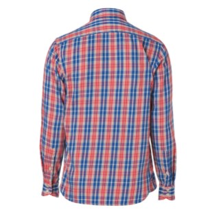 Rag & Bone Bright Red 3-4 Placket Shirt