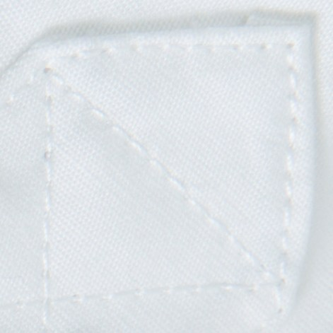 BLACKMANUFACTURING® White-Camo BD, Japanese Broadcloth Shirting, 100% Cotton, Camo Detailing. Made in the U.S.A.