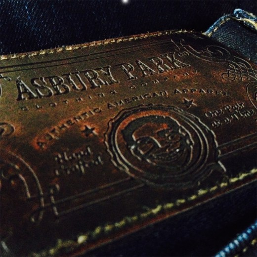 Asbury Park Leather Patch