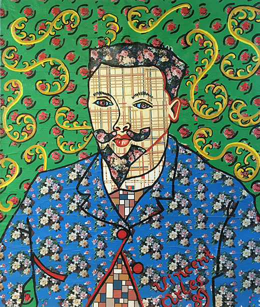 Jack Gibons_Van Gogh's Portrait of Dr. Ray, Untitled, 1992 01