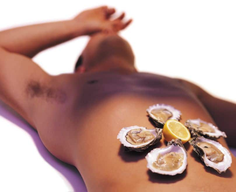 Oysters aphrodisiacs