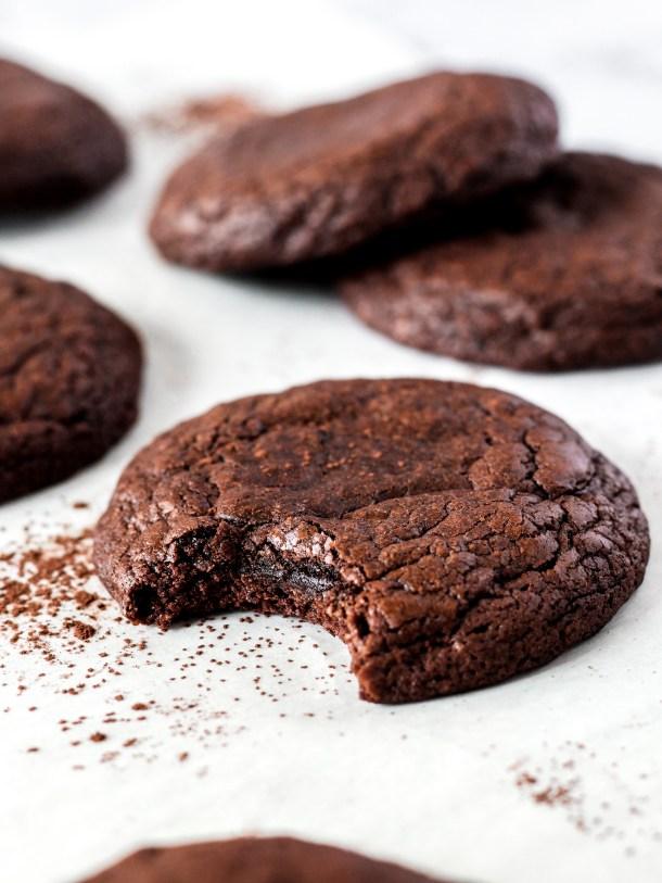 Olive Oil Brownie Cookies