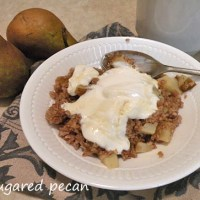 Breakfast Bulgur With Pears
