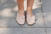 Not Rated DSW Bow Ballet Flats