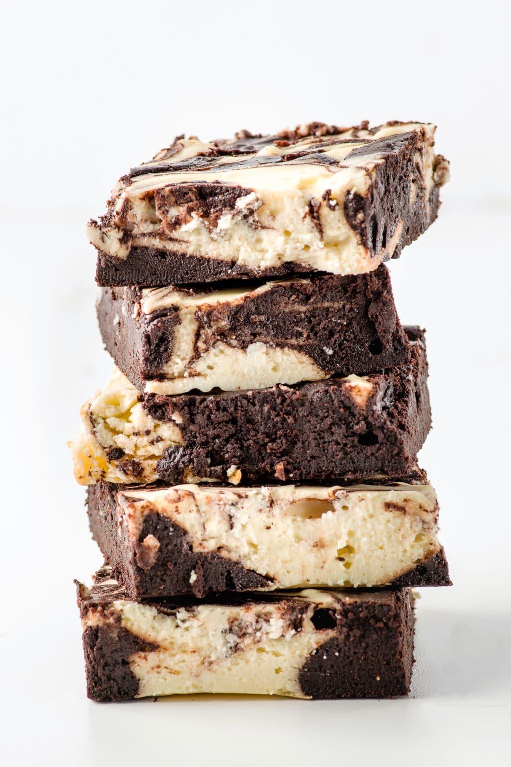 Keto Cheesecake Brownies