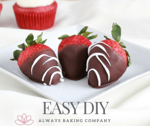 Chocolate Covered Strawberries For Facebook