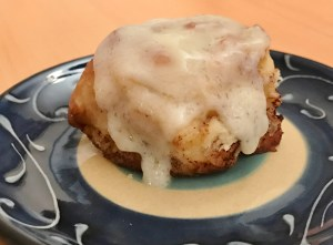 Low Carb Cinnamon Bun