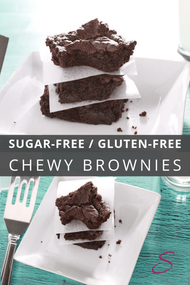 Perfect chewy and rich gluten free brownies.  You\'d never know they are gluten free!