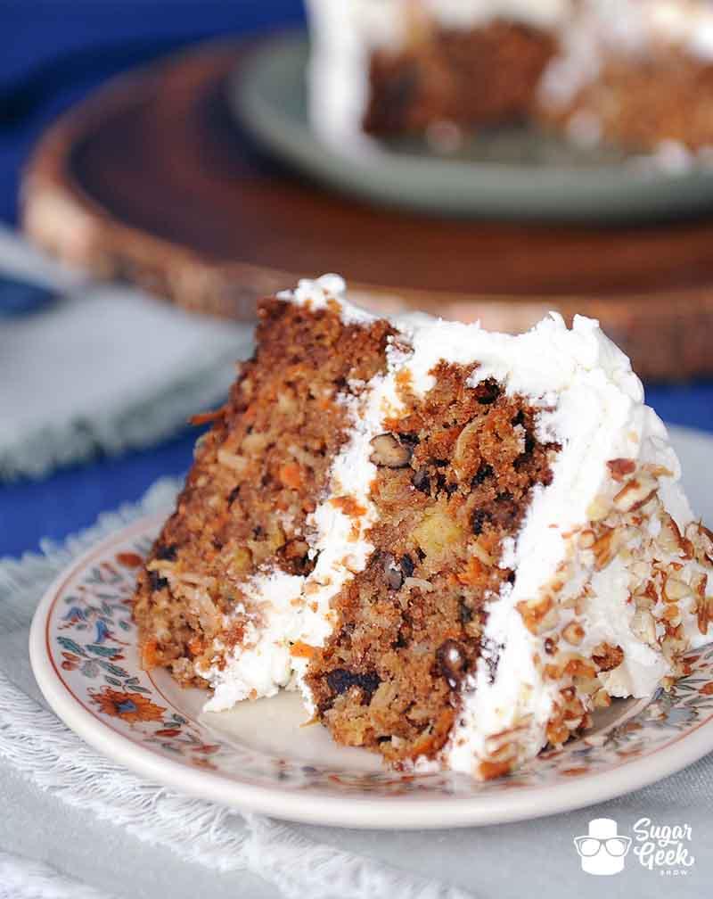 Carrot Cake Recipe Sugar Geek Show