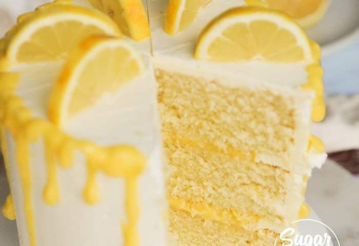 Lemon Cake Recipe From Scratch Video Tutorial Sugar Geek Show