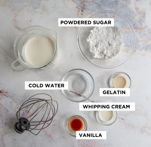 Stabilized Whipped Cream (17 EASY Variations)  Sugar Geek Show