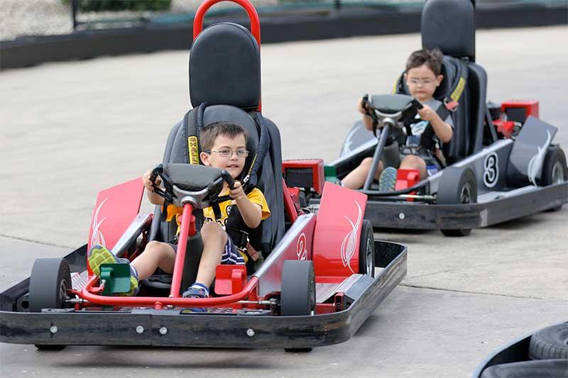 Best Outdoor Go Kart Racing Track Slick Track In Sugar Grove Chicago