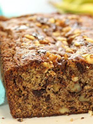Banana Bread | From SugarHero.com
