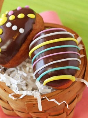 Easter Egg Doughnuts | From SugarHero.com