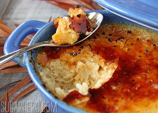 Rice Pudding Brûlée | SugarHero.com