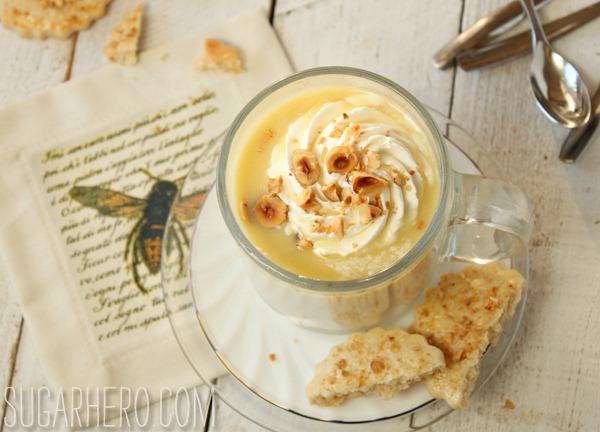 Hazelnut White Hot Chocolate