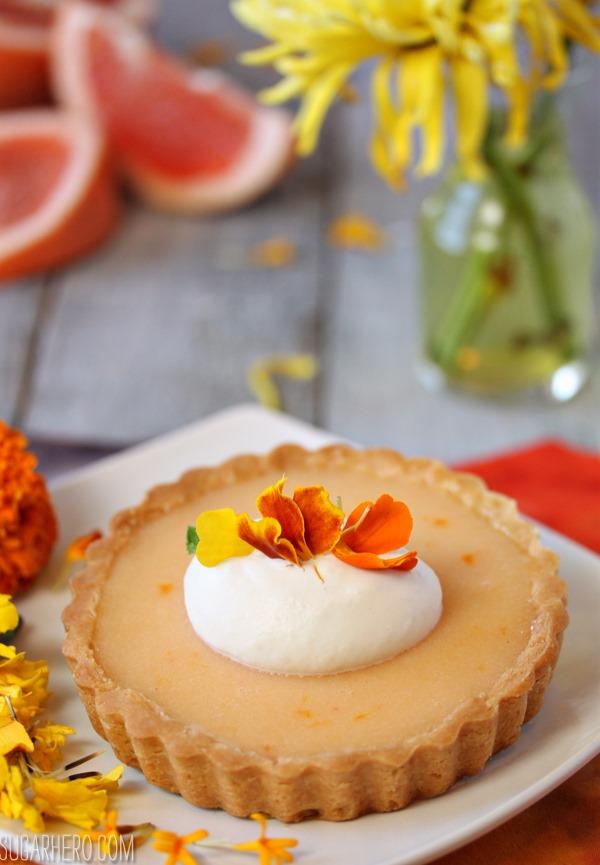 Grapefruit Tarts   SugarHero.com