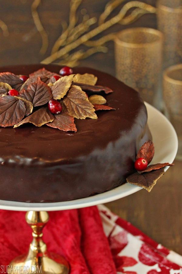 cranberry-chocolate-truffle-cake-4