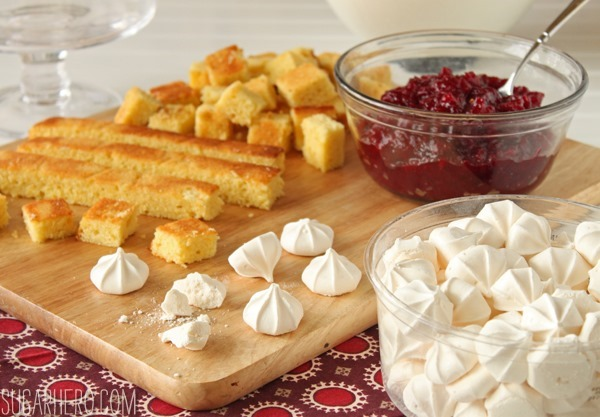 Cranberry Orange Trifle | SugarHero.com