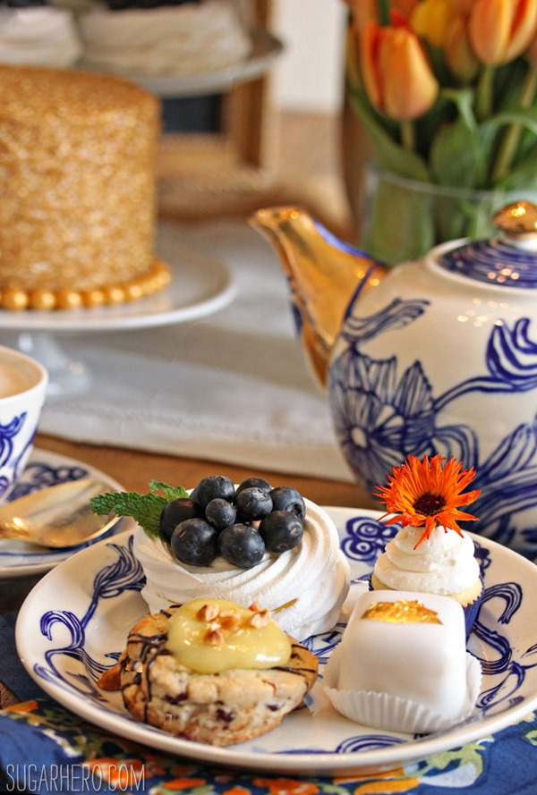 Mother's Day Tea Party | From SugarHero.com