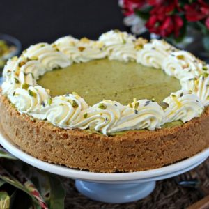 Pistachio Pie | From SugarHero.com
