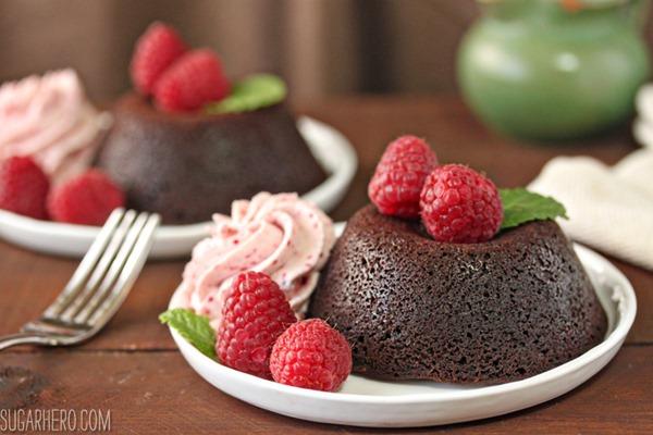 Four Fantastic Ways to Use Ganache: Easy Lava Cakes   From SugarHero.com