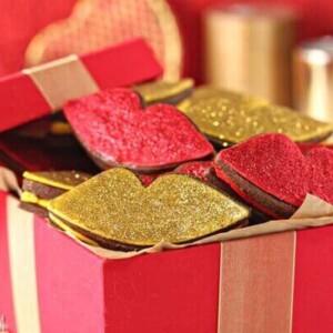 Red Hot Love Cookies | From SugarHero.com