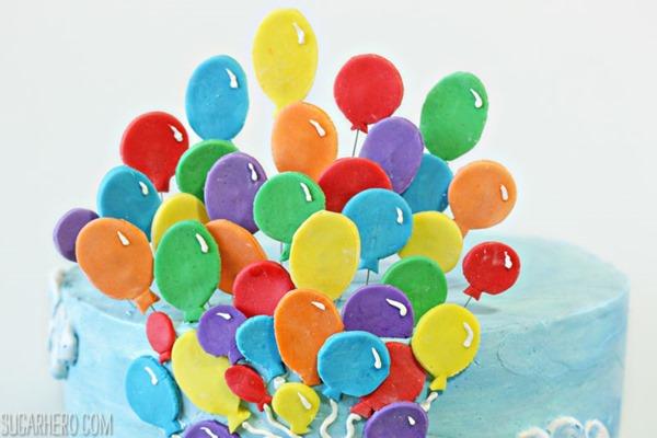 Curious George Birthday Cake | From SugarHero.com