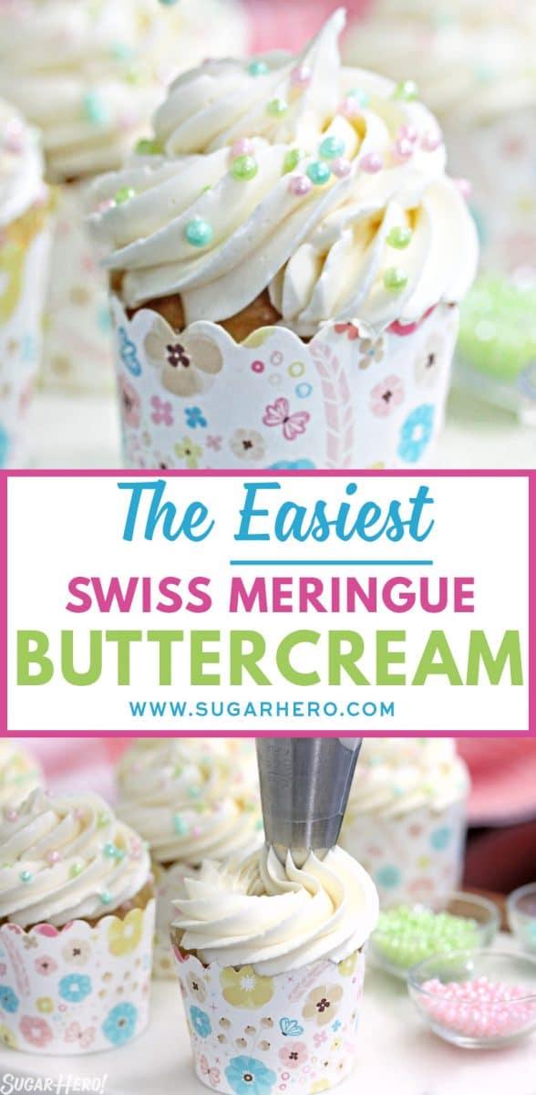 The EASIEST Swiss Meringue Buttercream - SugarHero