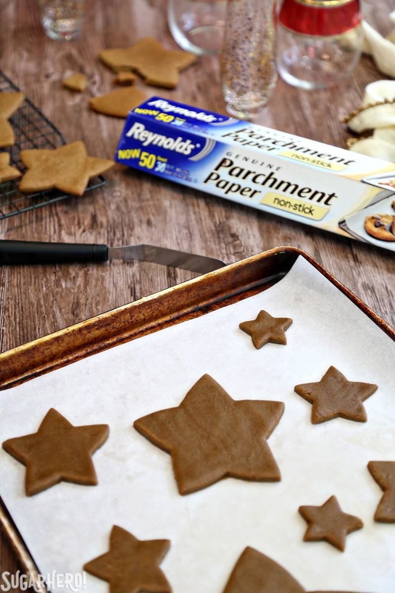 Making A Gingerbread Christmas Cookie Tree | From SugarHero.com