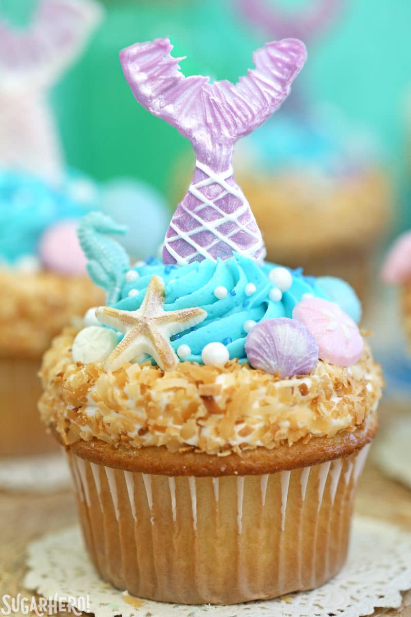 Mermaid Cupcakes - SugarHero