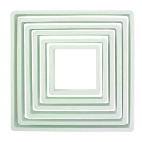 Square Cookie Cutter Set | From SugarHero.com