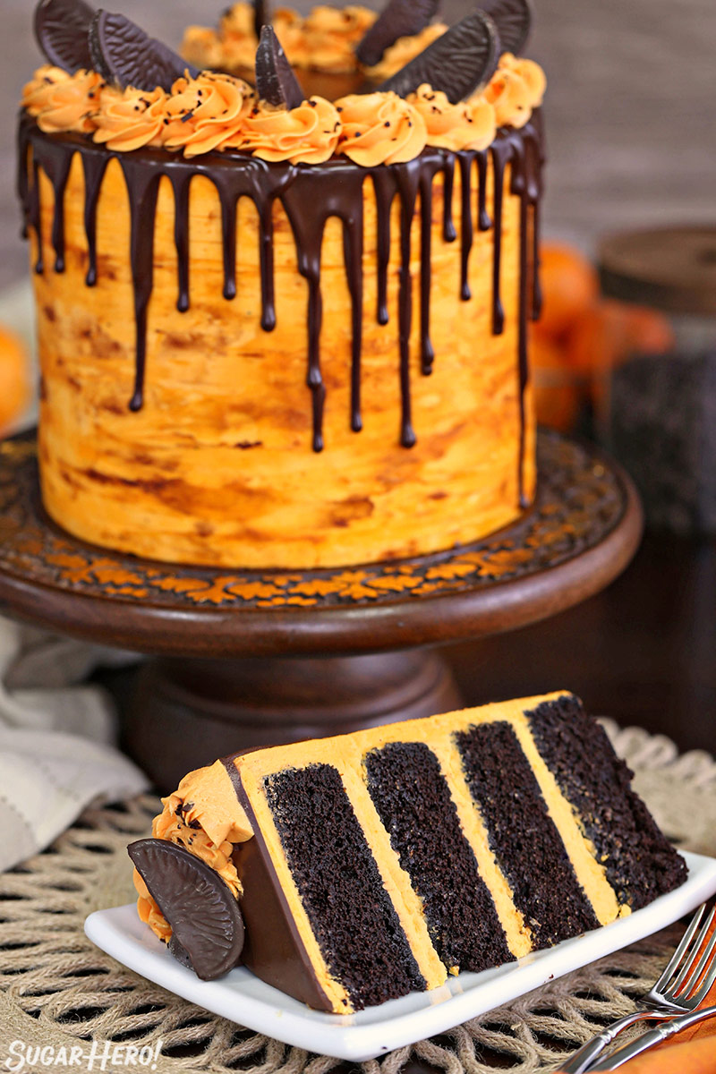 Chocolate Orange Cake - SugarHero