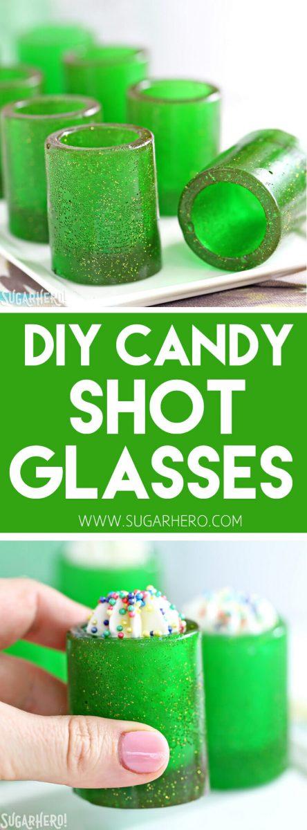 DIY Candy Shot Glasses - SugarHero