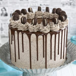 Cookies and Cream Cake | From SugarHero.com