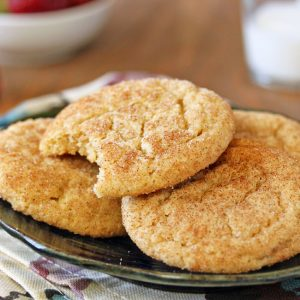 Snickerdoodle Cookies | From SugarHero.com