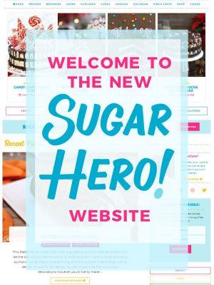 Welcome to the New SugarHero Website   From SugarHero.com