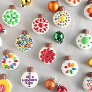 Oreo Cookie Christmas Ornaments   From SugarHero.com