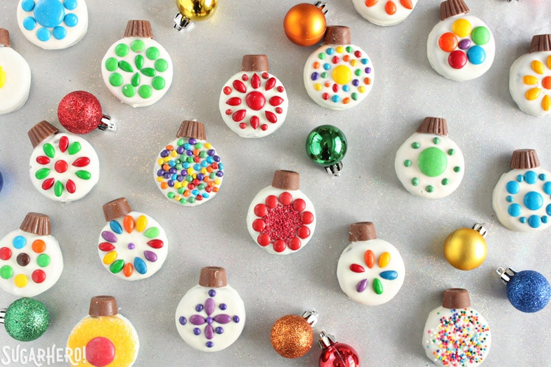 Oreo Cookie Christmas Ornaments